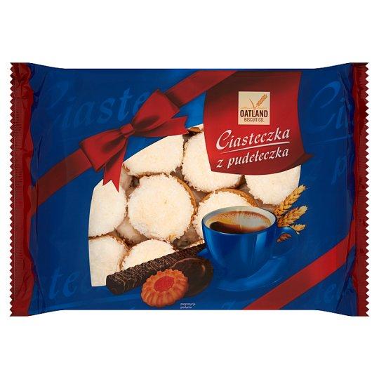 Oatland Biscuit Co. Ciasteczka z pudełeczka Biszkopt z marmoladą wieloowocową i pianką 500 g