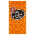 Tesco Finest Swiss Czekolada z cząstkami o smaku pomarańczowym migdałami i orzechami laskowymi 100 g