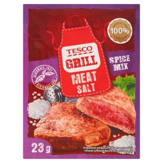Tesco Grill Meat Salt Spice Mix 23 g