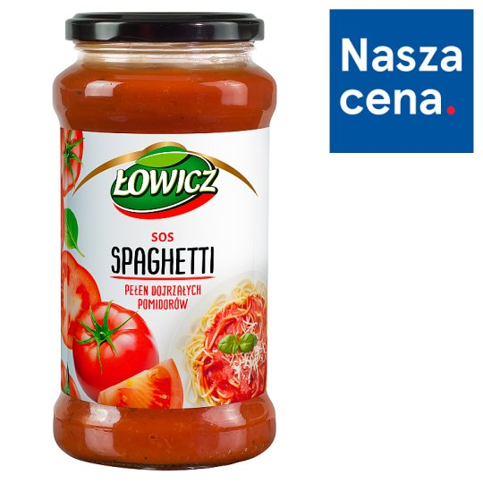 Łowicz Sos spaghetti 520 g