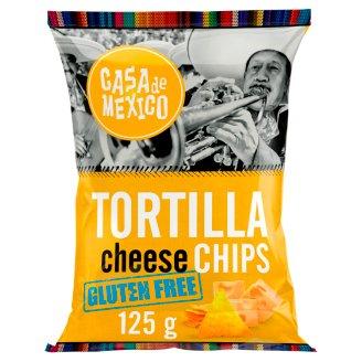 Casa de Mexico Tortilla Cheese Gluten Free Chips 125 g