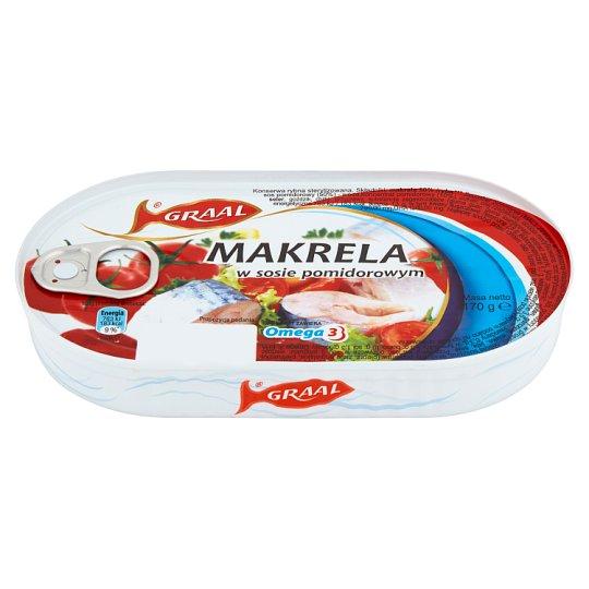 GRAAL Mackerel in Tomato Sauce 170 g
