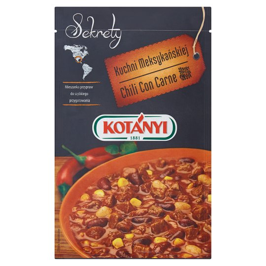 Kotányi Chili Con Carne Seasoning 25 g
