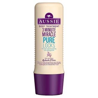 Aussie 3 Minute Miracle Pure Locks Głębokie odżywianie 250 ml