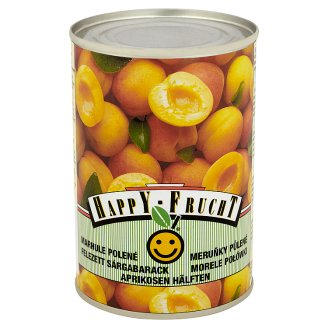 HAPPY FRUCHT Apricot Halves 410 g