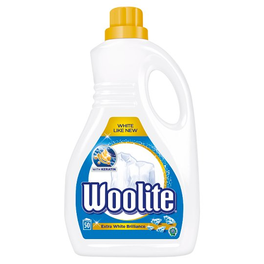 Woolite Extra White Brilliance with Keratin Washing Liquid 3 L (50 Washes)