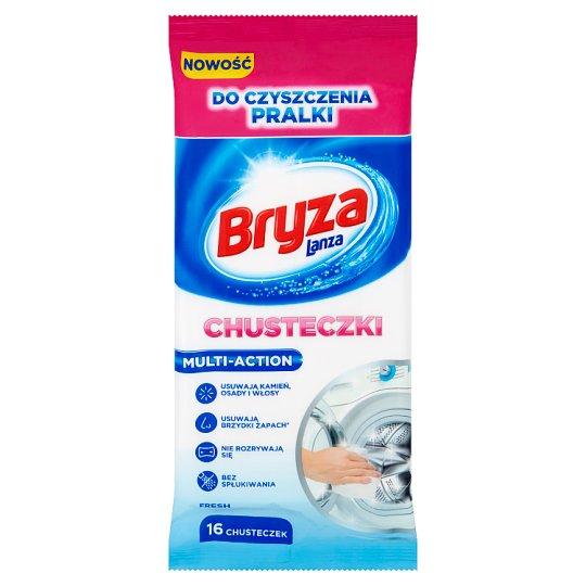 Bryza Lanza Multi-Aciton Fresh Washing Machine Cleaning Wipes 16 Pieces