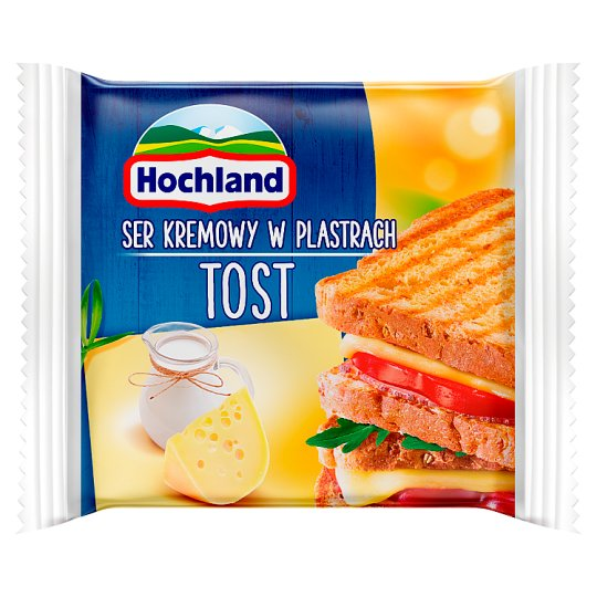 Hochland Toast Cream Cheese in Slices 130 g (8 Pieces)