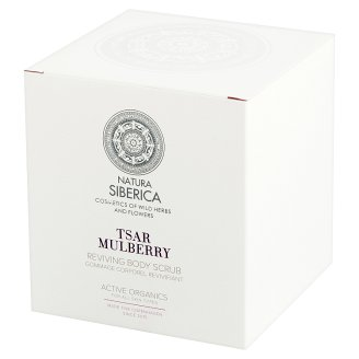 Natura Siberica Tsar Mulberry Reviving Body Scrub 370 ml