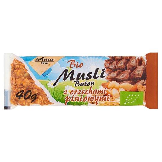 Ania Bio Musli Baton z orzechami piniowymi 40 g