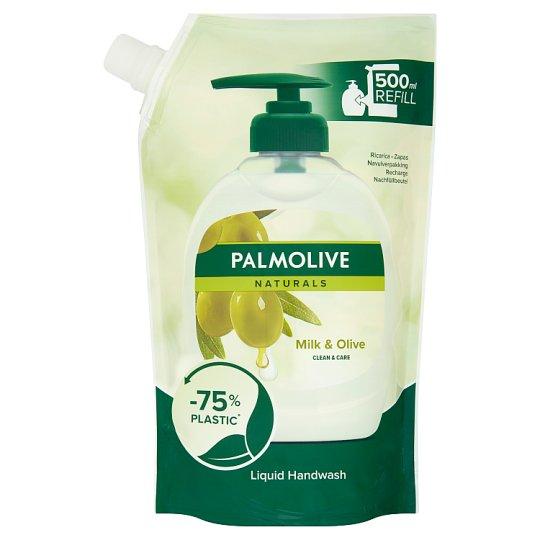Palmolive Naturals Milk & Olive Mydło w płynie do rąk zapas 500 ml