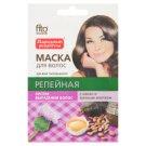 Fitocosmetic Maska do włosów łopianowa z żółtkiem z jaja i kakao 30 ml