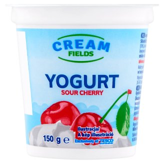 Cream Fields Sour Cherry Yoghurt 150 g