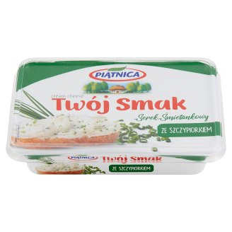 Piątnica Twój Smak Cream Cheese with Chives 135 g
