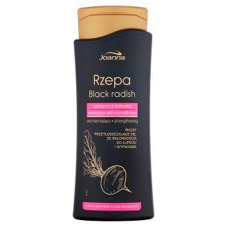 Joanna Rzepa Szampon wzmacniający z odżywką do włosów przetłuszczających się 400 ml