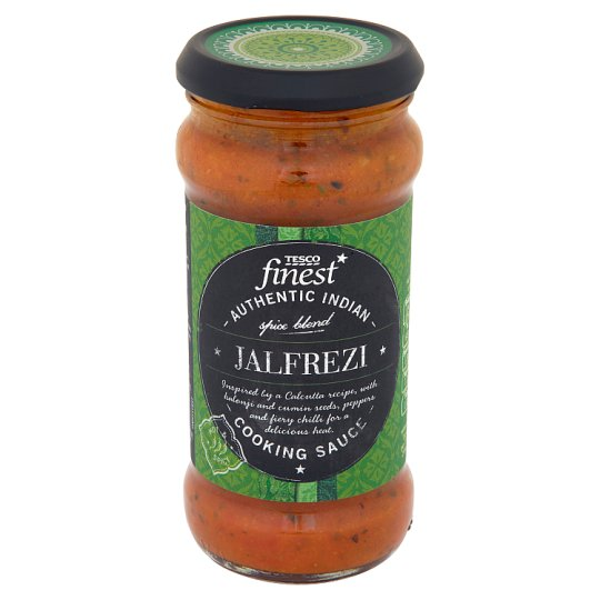 Tesco Finest Jalfrezi Spice Blend Authentic Indian Cooking Sauce 350 g
