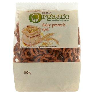Tesco Organic Ekologiczne precelki orkiszowe solone 100 g