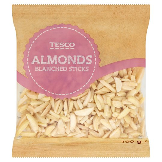 Tesco Sticks Blanched Almonds 100 g