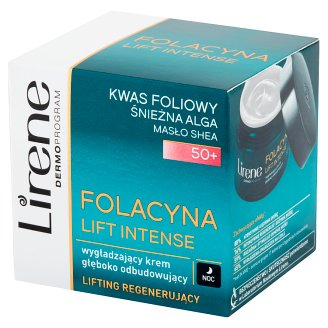 Lirene Folacyna Lift Intense 50+ Smoothing Deeply Rebuilding Night Cream 50 ml