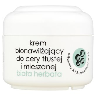 Ziaja White Tea Biomoisturizing Cream for Oily and Mixed Skin 50 ml
