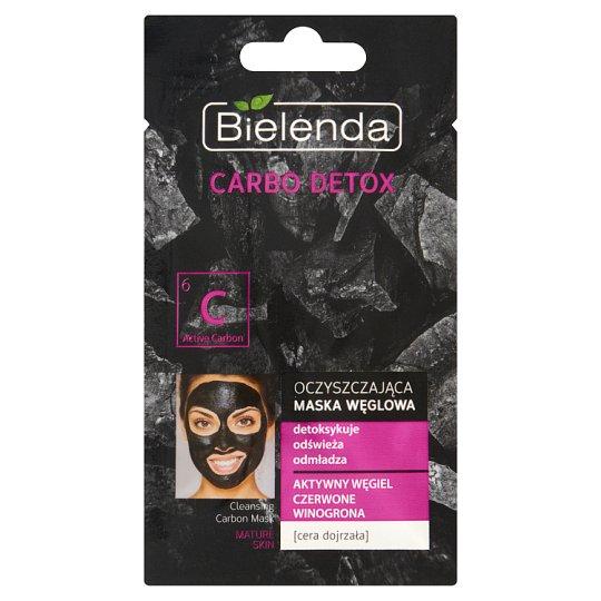 Bielenda Carbo Detox Oczyszczająca maska węglowa cera dojrzała 8 g