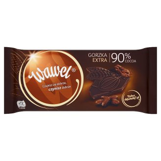 Wawel 90% Cocoa Extra Dark Chocolate 100 g