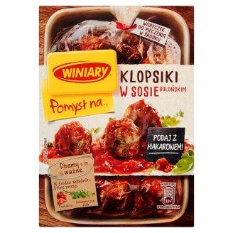 Winiary Pomysł na... Pork Meatballs in Bolognese Sauce 37 g