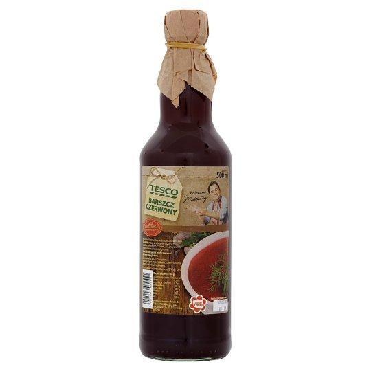 Tesco Red Borscht 500 ml