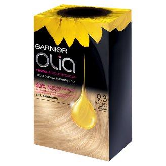 Garnier Olia Farba do włosów 9.3 Złocisty Jasny blond