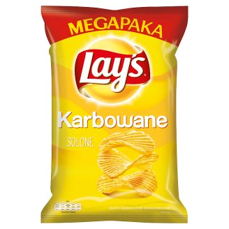 Lay's Karbowane Salted Potato Crisps 225 g