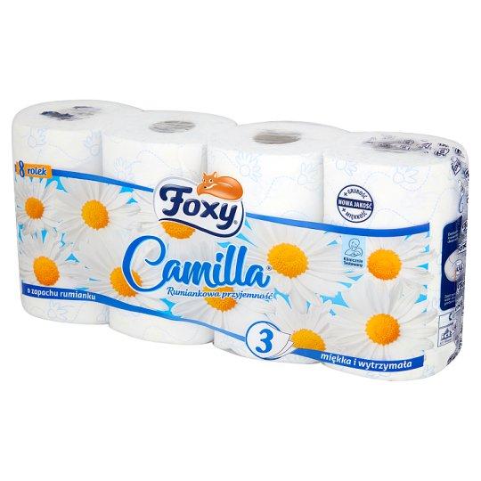 Foxy Camilla Toilet Paper 8 Rolls