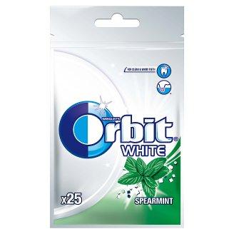 Orbit White Spearmint Guma do żucia bez cukru 35 g (25 drażetek)