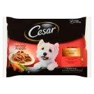 Cesar Choice of Flavors in The Sauce Complete Dog Food 400 g (4 Sachets)