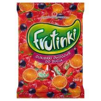 Frutinki Cukierki owocowe do żucia 280 g