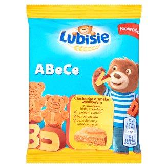 Lubisie ABeCe Vanilla Flavoured with White Chocolate Chunks Biscuits 25 g
