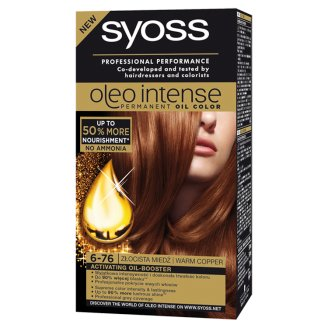 Syoss Oleo Intense Hair Colorant Warm Copper 6-76