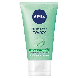 NIVEA Żel do mycia twarzy cera mieszana i tłusta 150 ml