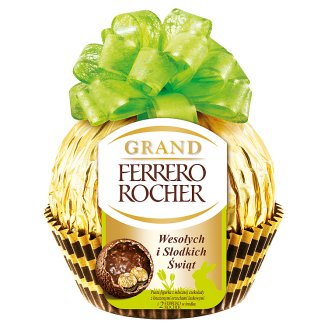 Ferrero Rocher Grand Milk Chocolate Figurine and Crunchy wafer with Filling 125 g