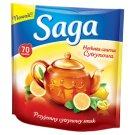 Saga Herbata czarna cytrynowa 91 g (70 torebek)