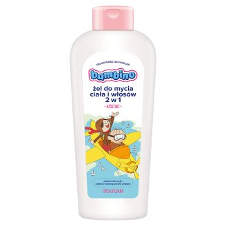 Bambino 2 in 1 Washing Gel for Body and Hair 400 ml