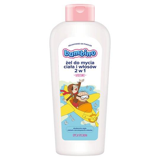 Bambino Dzieciaki 2 in 1 Washing Gel for Body and Hair 400 ml