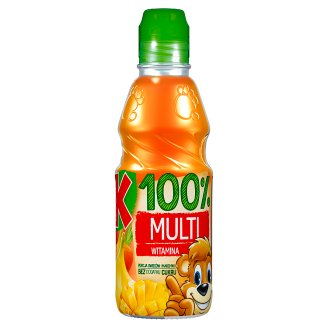 Kubuś 100% Sok multiwitamina 300 ml