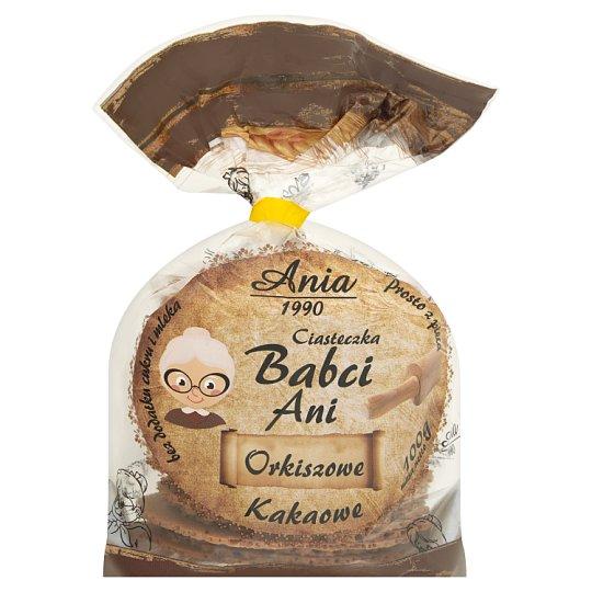 Ania Ciasteczka Babci Ani orkiszowe kakaowe 100 g