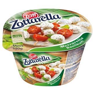 Zott Zottarella Basilikum Minis Mozzarella Cheese 150 g