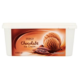 Tesco Chocolate Ice Cream 1000 ml