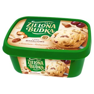 Zielona Budka Dried Fruit with Nuts and Raisins Ice Cream 1000 ml