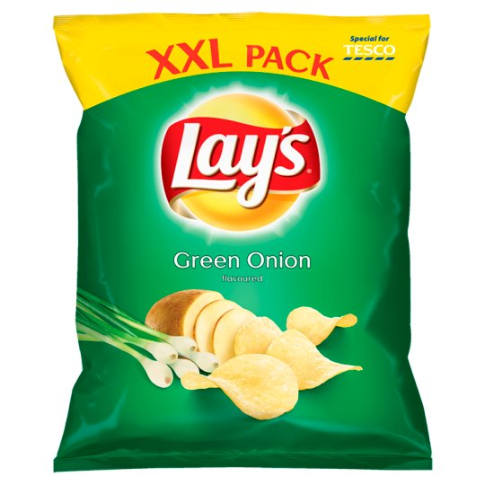 Lay's Green Onion Flavoured Potato Crisps 240 g