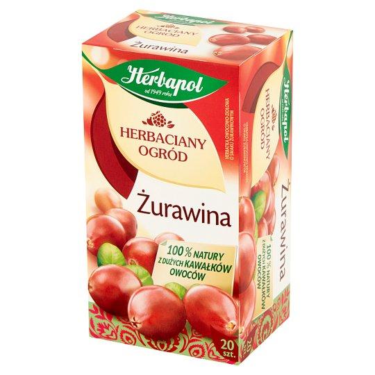 Herbapol Herbaciany Ogród Żurawina Herbatka owocowo-ziołowa 50 g (20 torebek)