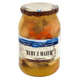 Mazurskie Przysmaki Fishes from Mazury in Jelly 900 g