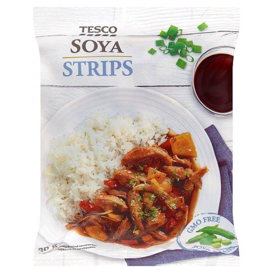 Tesco Soya Strips 80 g